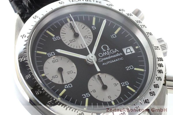 Used luxury watch Omega Speedmaster steel automatic Kal. 1155 ETA 7750  | 140948 02