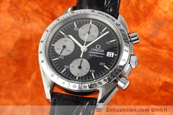 Used luxury watch Omega Speedmaster steel automatic Kal. 1155 ETA 7750  | 140948 04