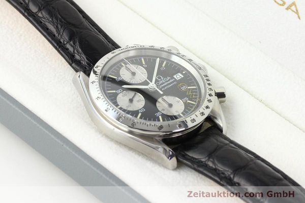 Used luxury watch Omega Speedmaster steel automatic Kal. 1155 ETA 7750  | 140948 07