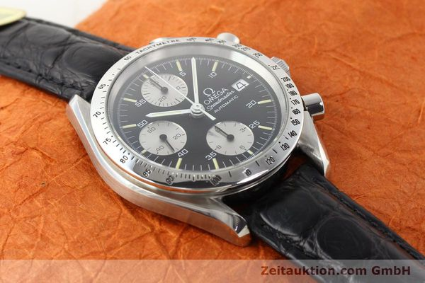 Used luxury watch Omega Speedmaster steel automatic Kal. 1155 ETA 7750  | 140948 13
