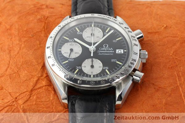 Used luxury watch Omega Speedmaster steel automatic Kal. 1155 ETA 7750  | 140948 14
