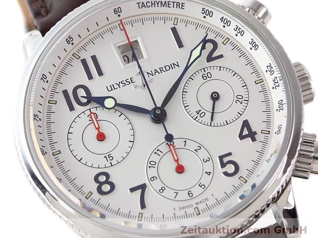 Used luxury watch Ulysse Nardin Marine Chronometer steel automatic Kal. U-N-36-15-100 ETA 2892A2 Ref. 363-22  | 140951 02