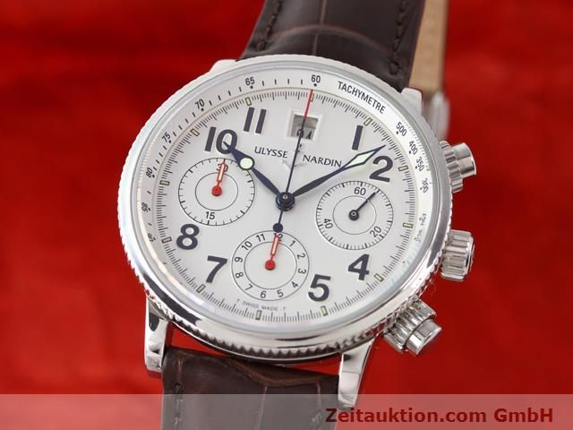 Used luxury watch Ulysse Nardin Marine Chronometer steel automatic Kal. U-N-36-15-100 ETA 2892A2 Ref. 363-22  | 140951 04