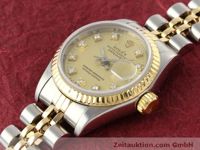 Used luxury watch Rolex Lady Datejust steel / gold automatic Kal. 2135 Ref. 69173  | 140953 01