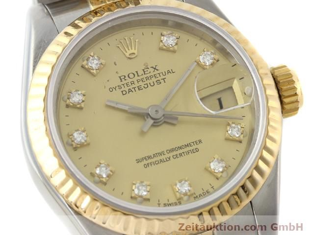Used luxury watch Rolex Lady Datejust steel / gold automatic Kal. 2135 Ref. 69173  | 140953 02