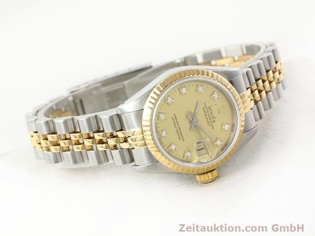 Used luxury watch Rolex Lady Datejust steel / gold automatic Kal. 2135 Ref. 69173  | 140953 03
