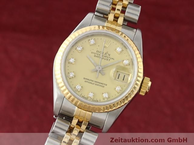 Used luxury watch Rolex Lady Datejust steel / gold automatic Kal. 2135 Ref. 69173  | 140953 04