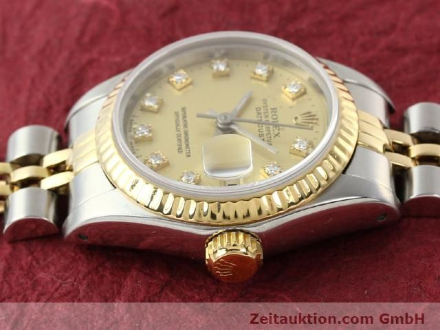 Used luxury watch Rolex Lady Datejust steel / gold automatic Kal. 2135 Ref. 69173  | 140953 05