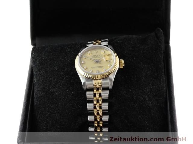 Used luxury watch Rolex Lady Datejust steel / gold automatic Kal. 2135 Ref. 69173  | 140953 07