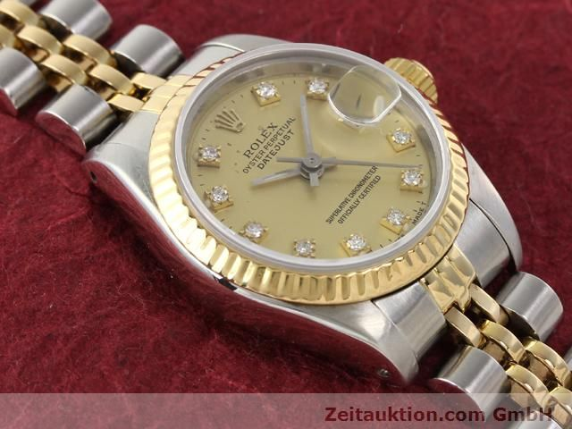 Used luxury watch Rolex Lady Datejust steel / gold automatic Kal. 2135 Ref. 69173  | 140953 15