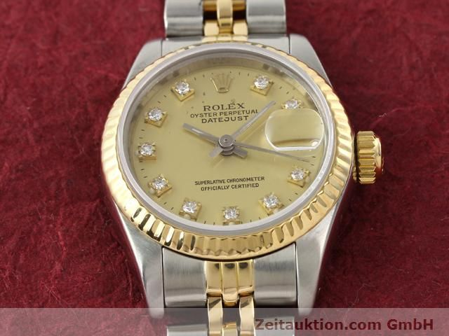 Used luxury watch Rolex Lady Datejust steel / gold automatic Kal. 2135 Ref. 69173  | 140953 16
