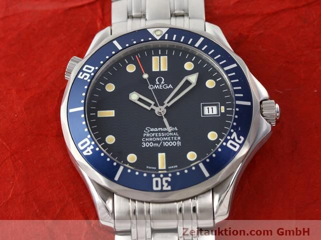 Used luxury watch Omega Seamaster steel automatic Kal. 1120  | 140958 16