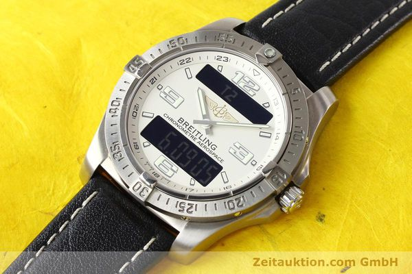 Used luxury watch Breitling Aerospace titanium quartz Kal. ETA E10.451 Ref. E79362  | 140963 01