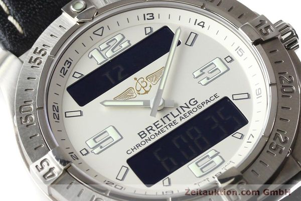Used luxury watch Breitling Aerospace titanium quartz Kal. ETA E10.451 Ref. E79362  | 140963 02