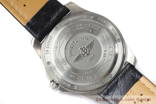 Used luxury watch Breitling Aerospace titanium quartz Kal. ETA E10.451 Ref. E79362  | 140963 09