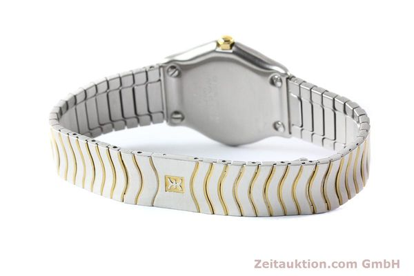 Used luxury watch Ebel Classic Wave steel / gold quartz Ref. E1087121  | 140965 08