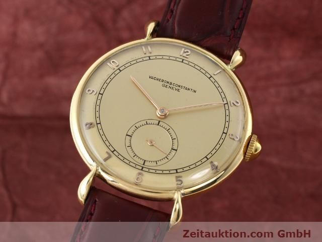Used luxury watch Vacheron & Constantin * 18 ct gold manual winding Kal. 453/2C  | 140967 04