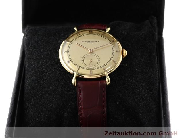Used luxury watch Vacheron & Constantin * 18 ct gold manual winding Kal. 453/2C  | 140967 07