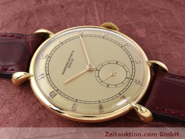 Used luxury watch Vacheron & Constantin * 18 ct gold manual winding Kal. 453/2C  | 140967 12