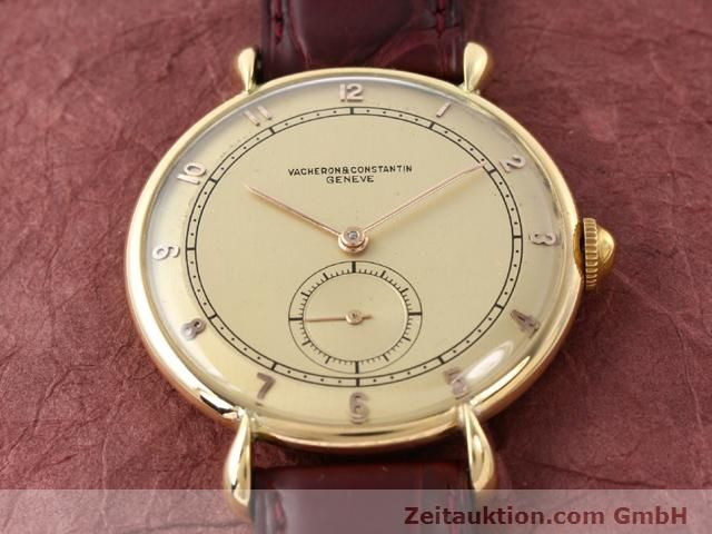 Used luxury watch Vacheron & Constantin * 18 ct gold manual winding Kal. 453/2C  | 140967 13