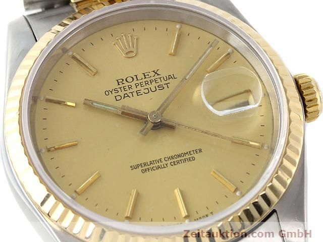 Used luxury watch Rolex Datejust steel / gold automatic Kal. 3135 Ref. 16233  | 140969 02