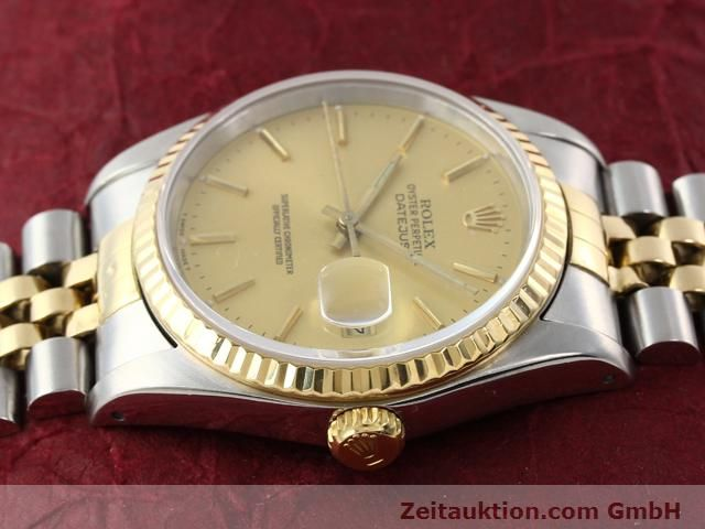 Used luxury watch Rolex Datejust steel / gold automatic Kal. 3135 Ref. 16233  | 140969 05