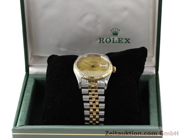 Used luxury watch Rolex Datejust steel / gold automatic Kal. 3135 Ref. 16233  | 140969 07