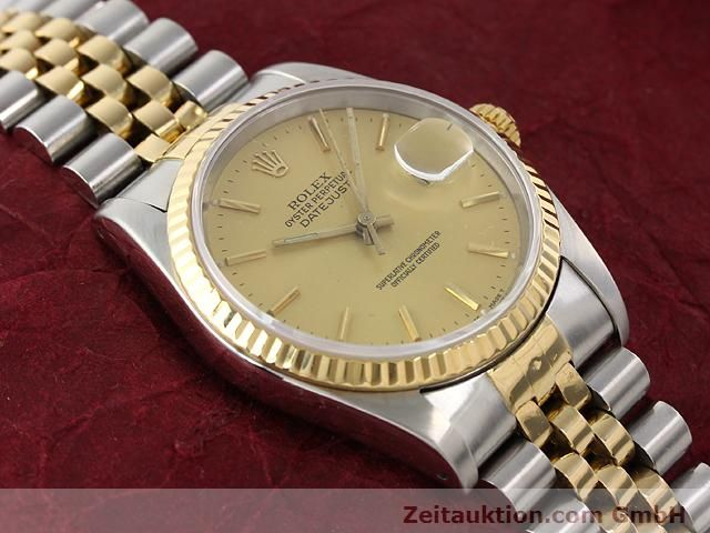 Used luxury watch Rolex Datejust steel / gold automatic Kal. 3135 Ref. 16233  | 140969 14