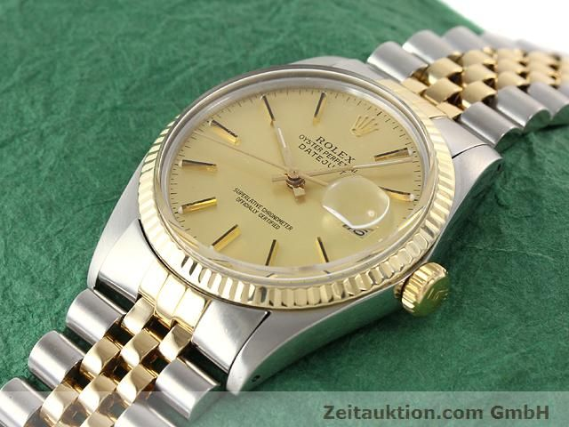 Used luxury watch Rolex Datejust steel / gold automatic Kal. 3035 Ref. 16613  | 140970 01