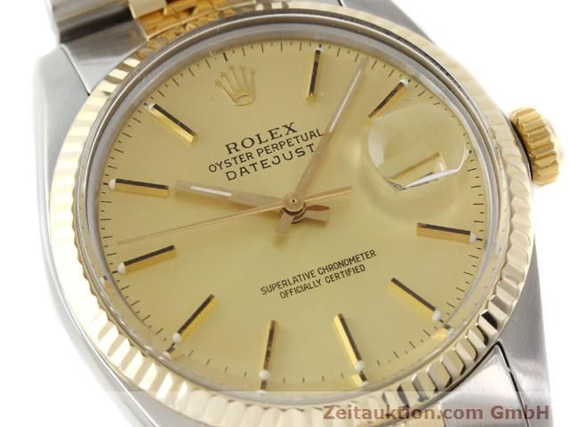 Used luxury watch Rolex Datejust steel / gold automatic Kal. 3035 Ref. 16613  | 140970 02