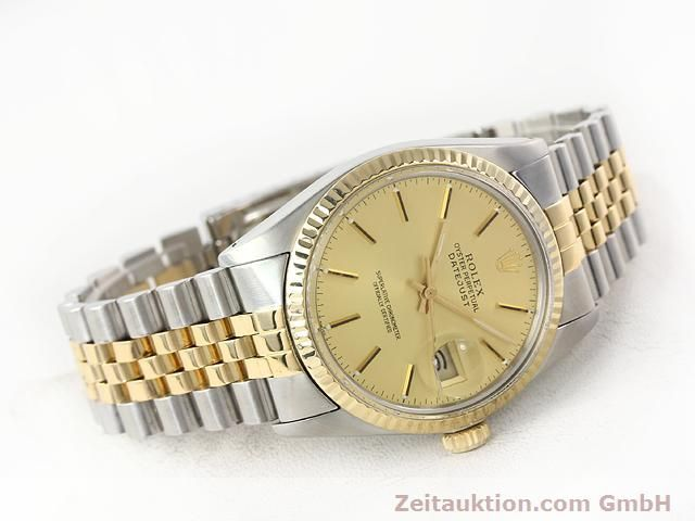 Used luxury watch Rolex Datejust steel / gold automatic Kal. 3035 Ref. 16613  | 140970 03