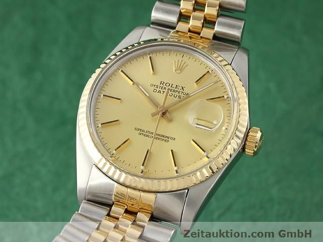 Used luxury watch Rolex Datejust steel / gold automatic Kal. 3035 Ref. 16613  | 140970 04