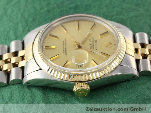 Used luxury watch Rolex Datejust steel / gold automatic Kal. 3035 Ref. 16613  | 140970 05