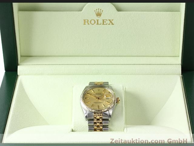 Used luxury watch Rolex Datejust steel / gold automatic Kal. 3035 Ref. 16613  | 140970 07