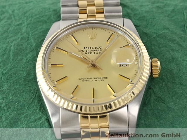 Used luxury watch Rolex Datejust steel / gold automatic Kal. 3035 Ref. 16613  | 140970 17