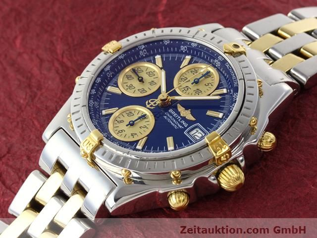 Used luxury watch Breitling Chronomat gilt steel automatic Kal. B.2 ETA7750 Ref. B130501  | 140975 01