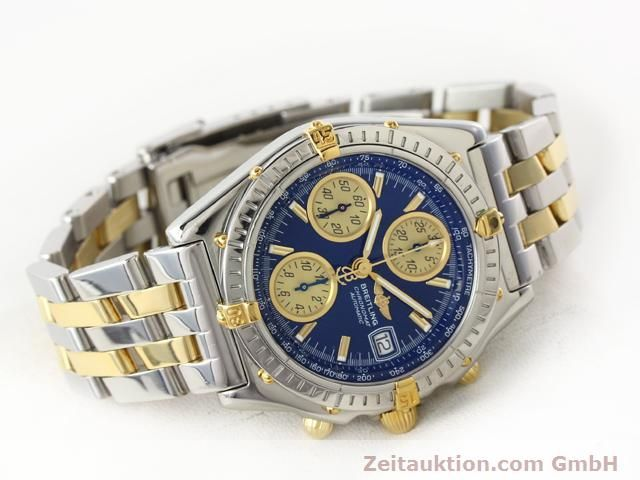 Used luxury watch Breitling Chronomat gilt steel automatic Kal. B.2 ETA7750 Ref. B130501  | 140975 03