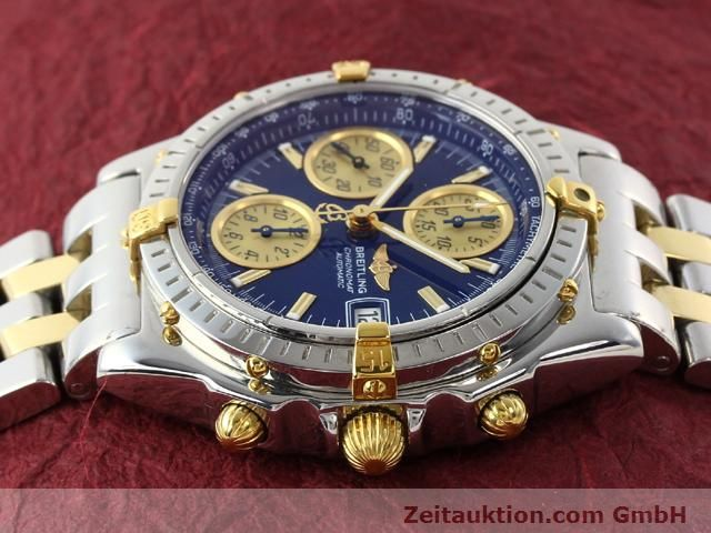 Used luxury watch Breitling Chronomat gilt steel automatic Kal. B.2 ETA7750 Ref. B130501  | 140975 05