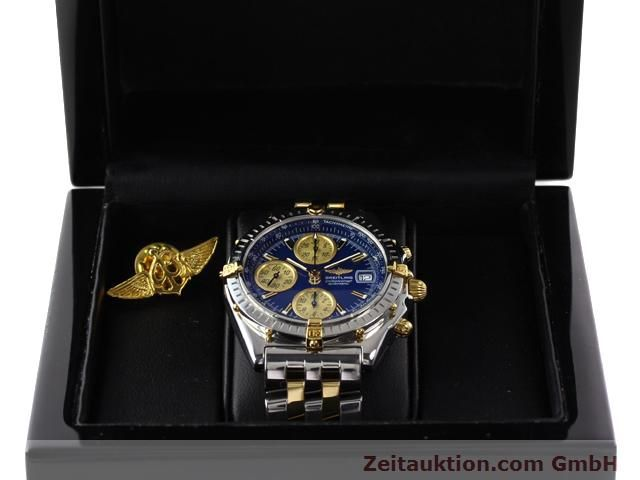 Used luxury watch Breitling Chronomat gilt steel automatic Kal. B.2 ETA7750 Ref. B130501  | 140975 07