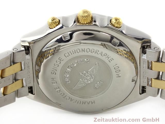 Used luxury watch Breitling Chronomat gilt steel automatic Kal. B.2 ETA7750 Ref. B130501  | 140975 09