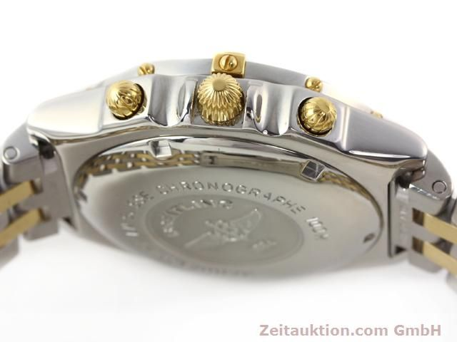 Used luxury watch Breitling Chronomat gilt steel automatic Kal. B.2 ETA7750 Ref. B130501  | 140975 11