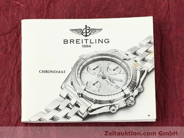 Used luxury watch Breitling Chronomat gilt steel automatic Kal. B.2 ETA7750 Ref. B130501  | 140975 13