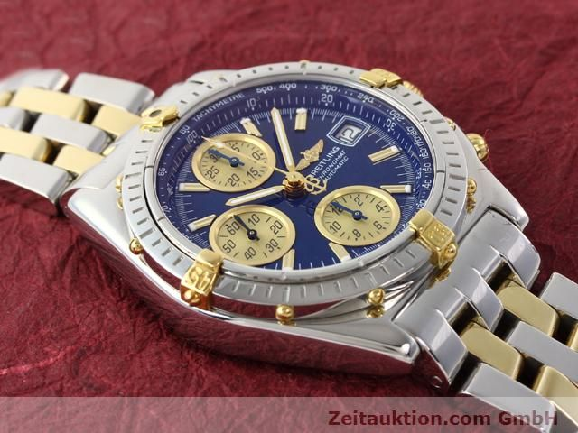 Used luxury watch Breitling Chronomat gilt steel automatic Kal. B.2 ETA7750 Ref. B130501  | 140975 15