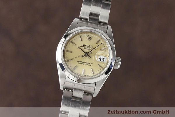 Used luxury watch Rolex Lady Date steel automatic Kal. 2135 Ref. 69160  | 140976 04