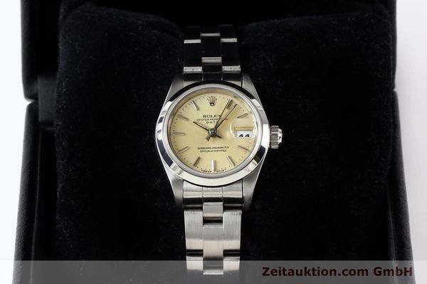 Used luxury watch Rolex Lady Date steel automatic Kal. 2135 Ref. 69160  | 140976 07