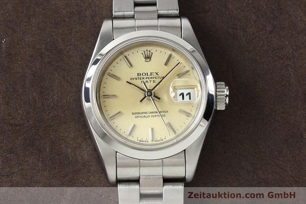 Used luxury watch Rolex Lady Date steel automatic Kal. 2135 Ref. 69160  | 140976 17
