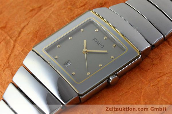 Used luxury watch Rado Diastar ceramic quartz Ref. 152.0332.3  | 140981 01