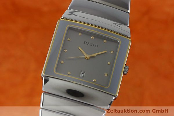 Used luxury watch Rado Diastar ceramic quartz Ref. 152.0332.3  | 140981 04