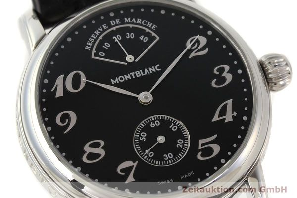 Used luxury watch Montblanc Meisterstück steel manual winding Kal. 4810901 ETA 7001 Ref. 7017  | 140983 02