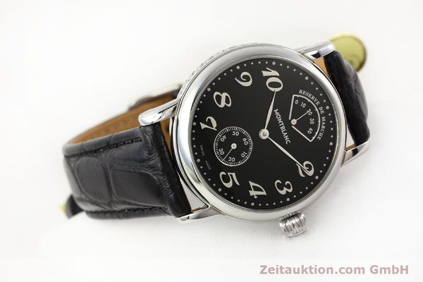 Used luxury watch Montblanc Meisterstück steel manual winding Kal. 4810901 ETA 7001 Ref. 7017  | 140983 03